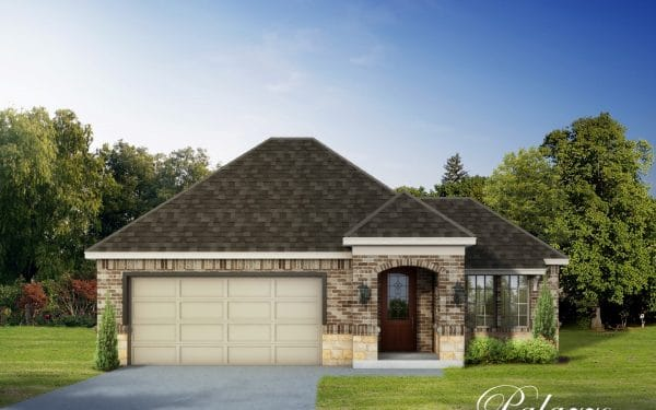 Villas at White Oak Home Designs and Floor Plans - Palazzo