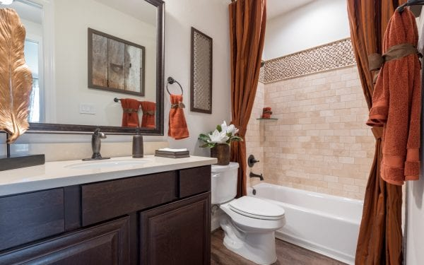 Guest Bathroom in Active Adult Community