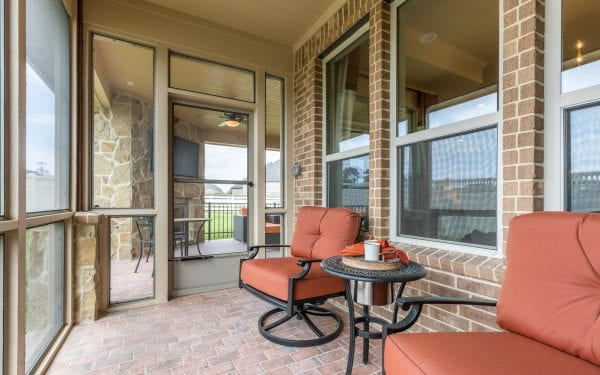 Villas at White Oak Outdoor Entertainment Space