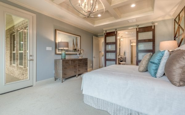 55+ Master Bedroom with Barndoors