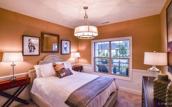 55+ Adult Community Master Bedroom
