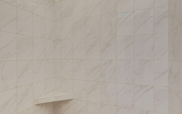 Tiled Large Walk in Shower