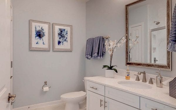 55+ Accessible Guest Bathroom