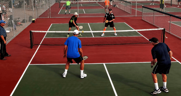 Pickle Ball Courts on Lake Conroe