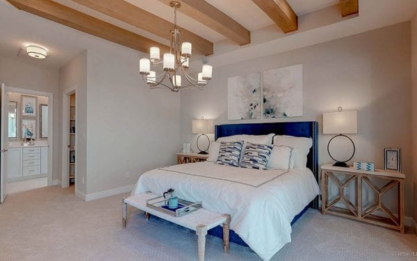 Villas at White Oak Suite with Wood Beams