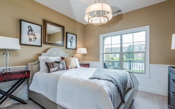 Villas at White Oak Bedroom with Large Window