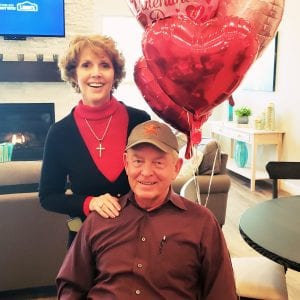 Valentines in 55+ community