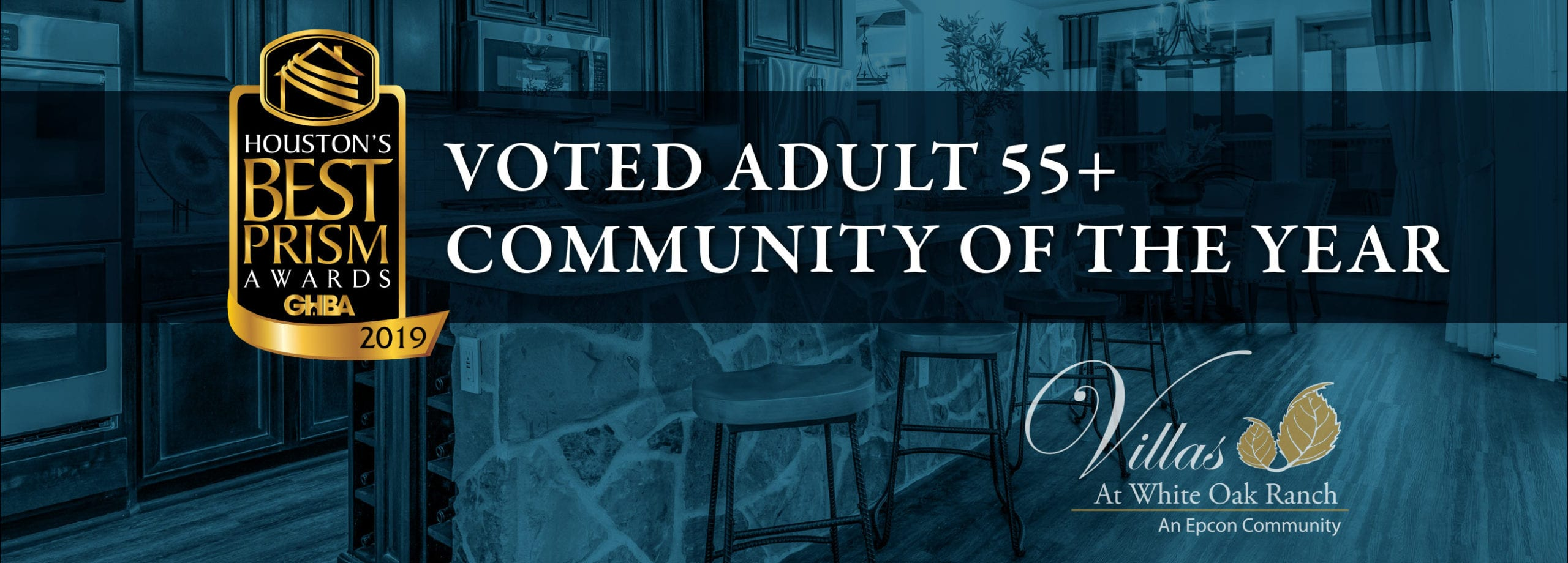 Villas at White Oak Voted Adult 55+ Community of the Year
