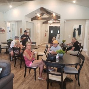 Socializing in new homes in conroe texas