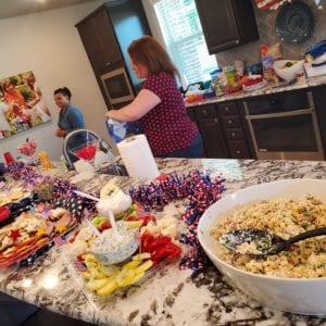 Villas at White Oak Independence Day snacks