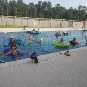 Pool in active adult communities