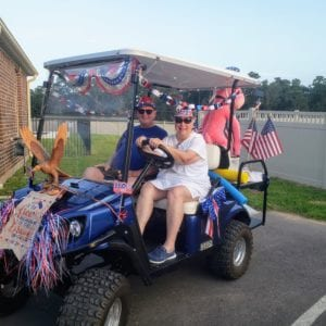 55+ Community Independence Day parade