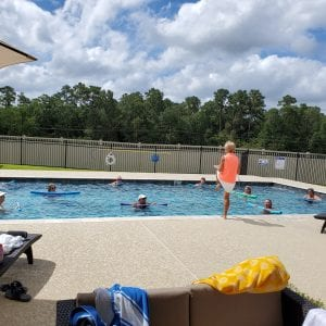 Pool Fun Near Lake Conroe